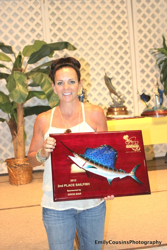 "20"" Sailfish Plaque"