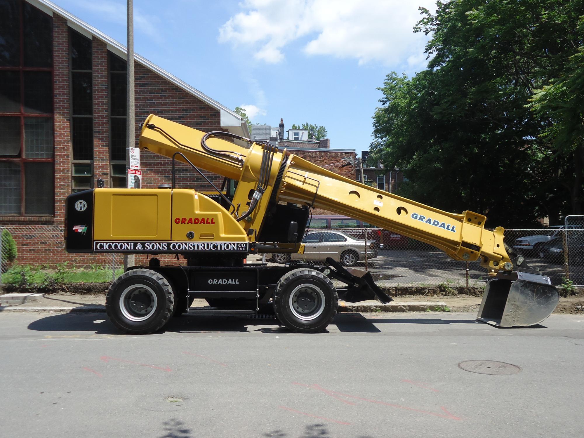 Gradall XL5300