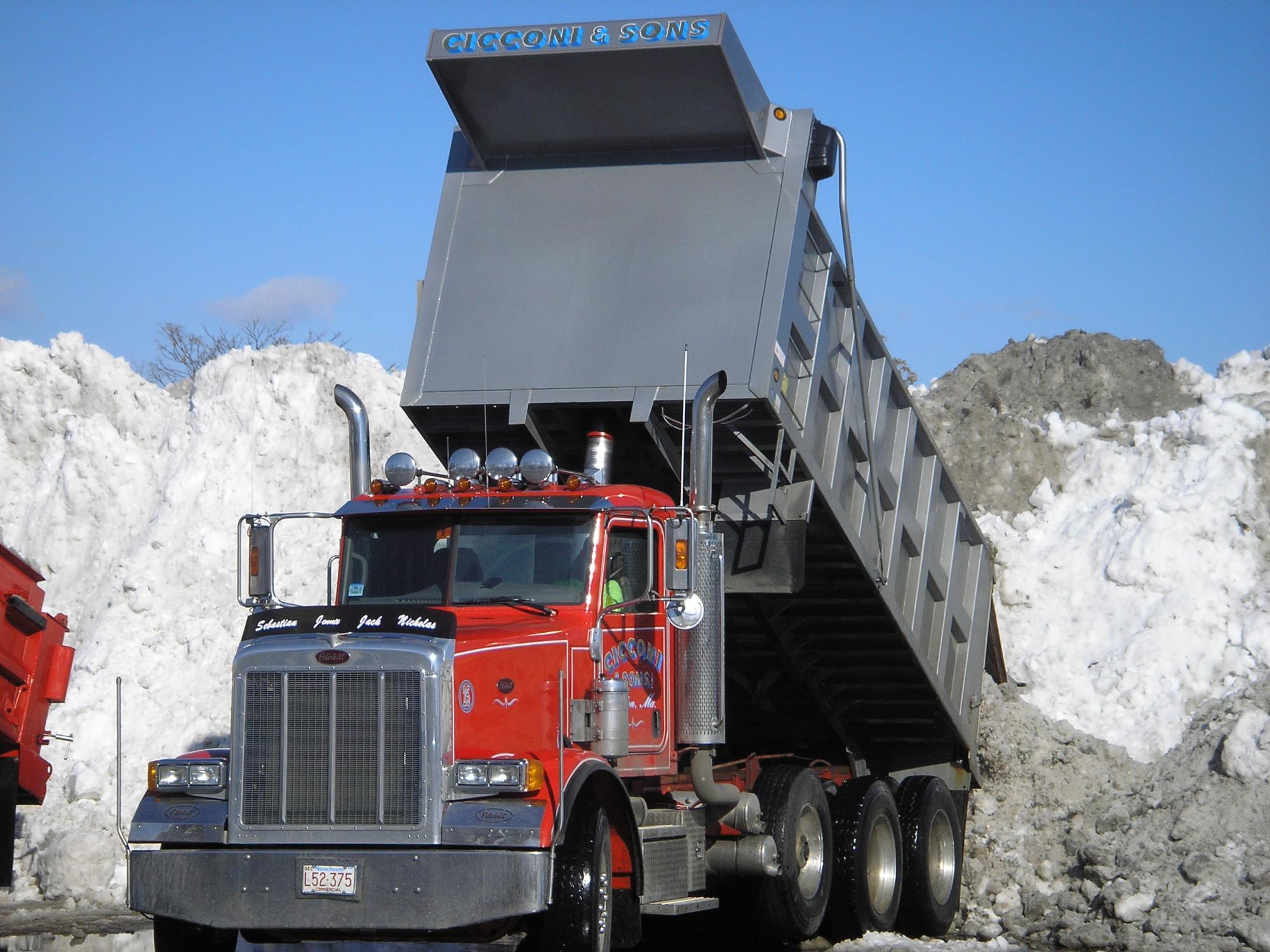 Dumping Snow