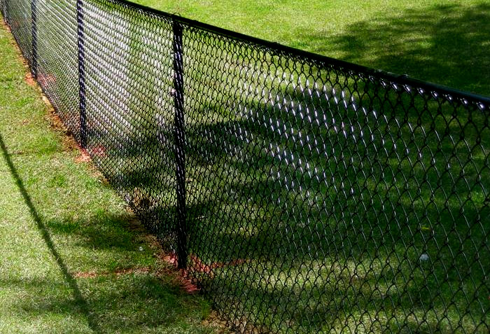 Coated chain link