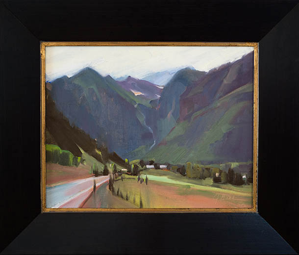 Driving in Telluride, Joli Beal