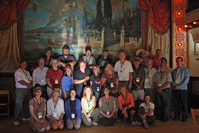 The 2014 Telluride Plein Air artists