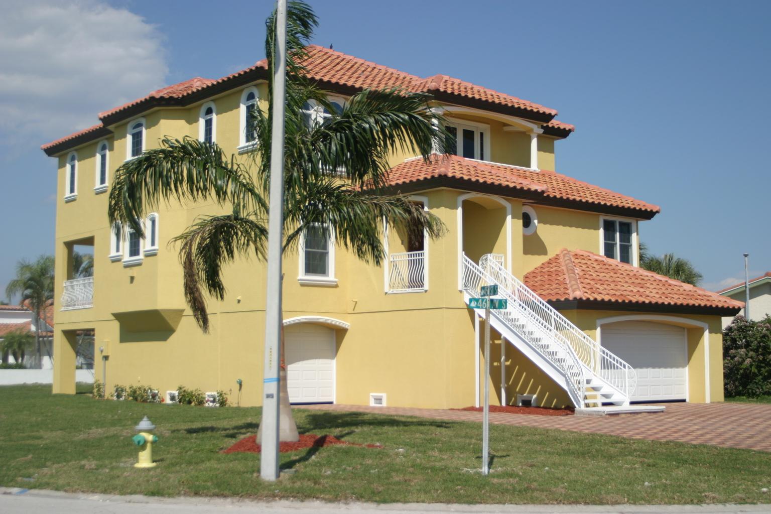 Coastal Zone Custom Home in St. Petersburg