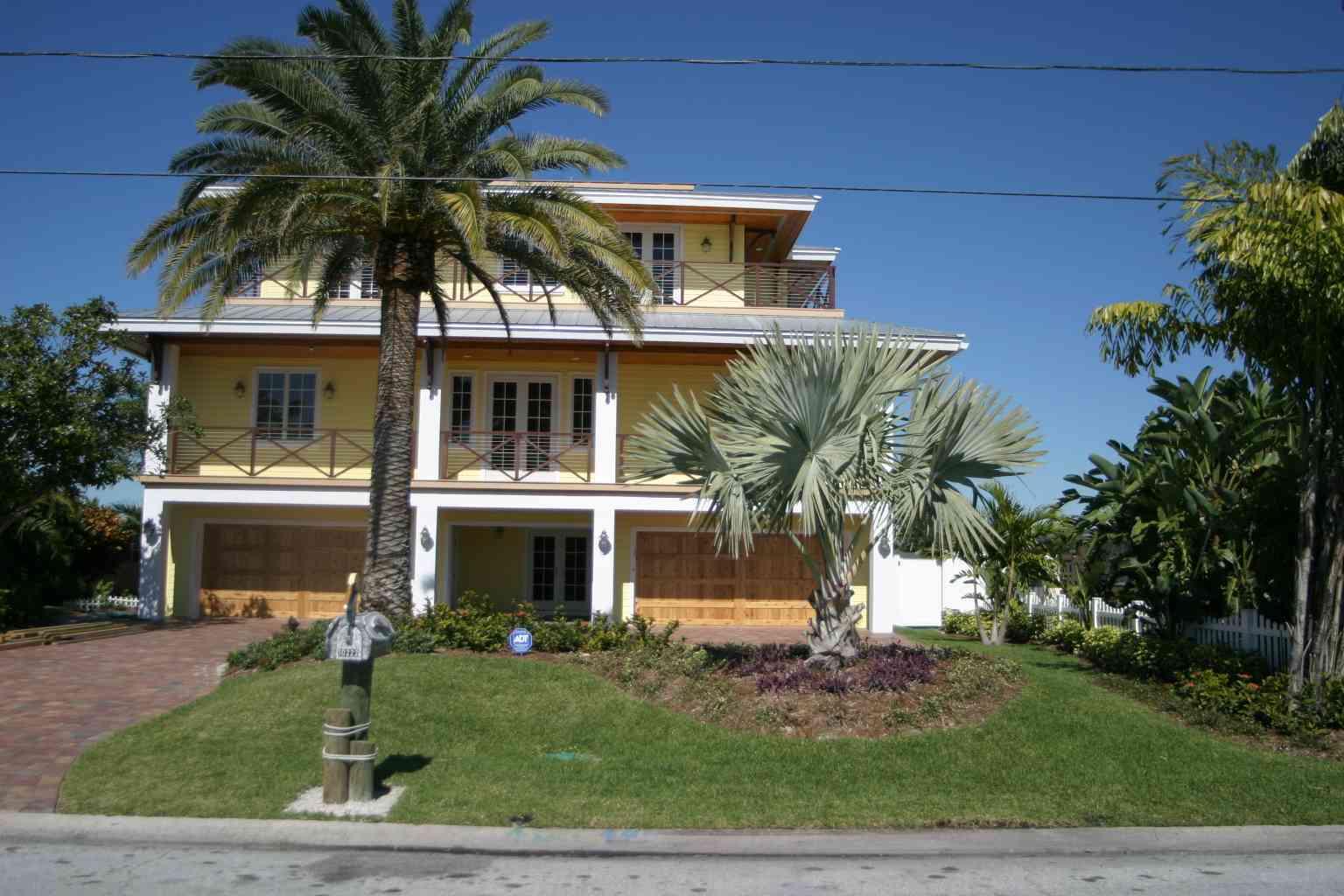 Custom Waterfront Home on Treasure Island