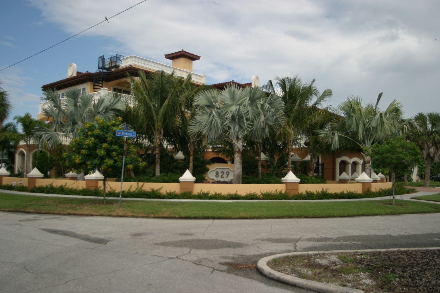 4 Story Custom Home on Clearwater Beach