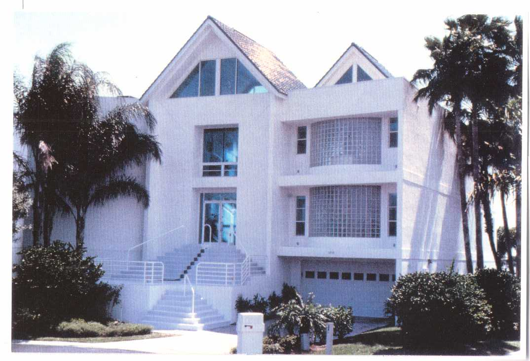 Ultra Modern Custom Waterfront Home on St. Pete Beach
