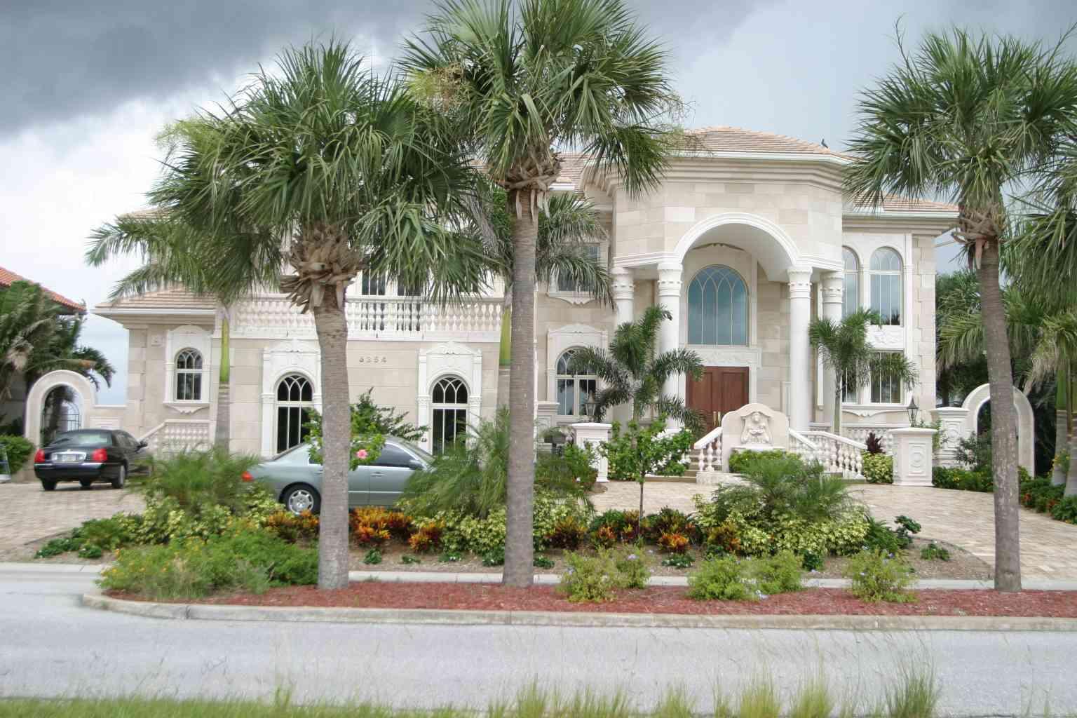 Custom Coastal Zone Home - Imported Tile Facade