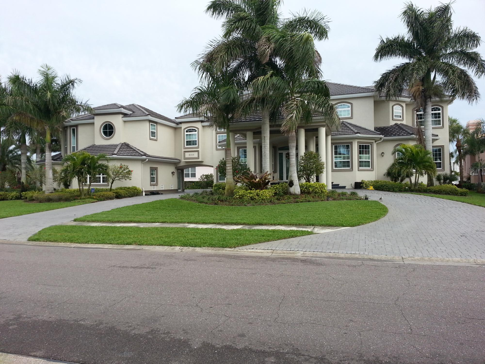 Stately A-Zone Custom Home in Gulfport
