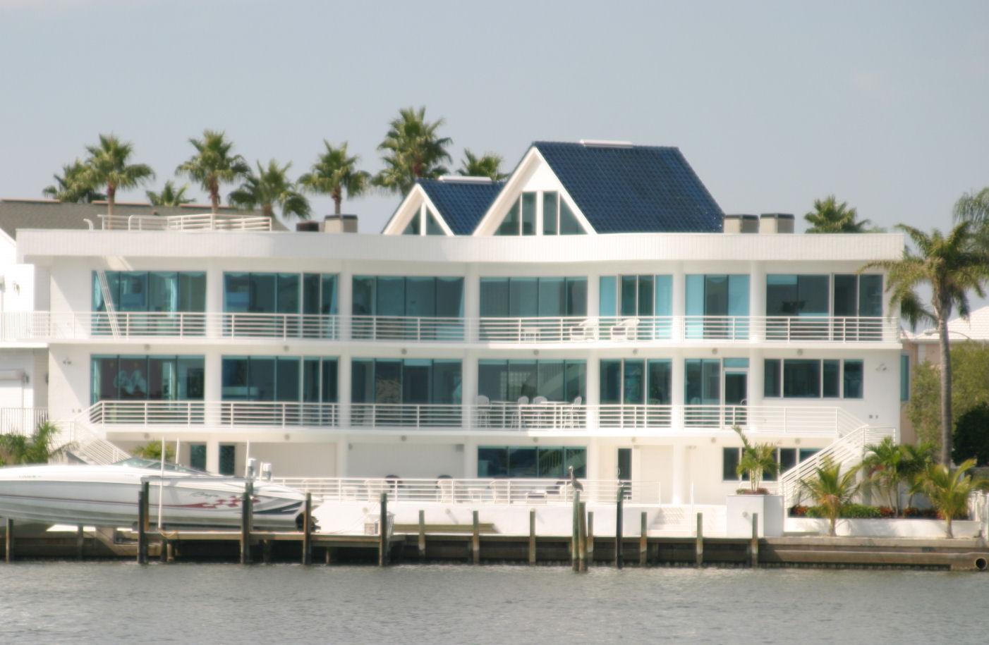Custom Waterfront Home in St. Pete Beach