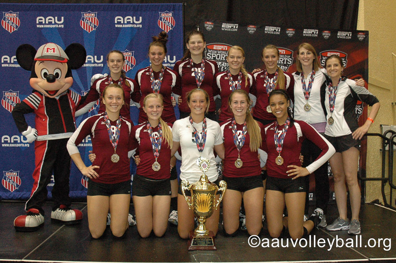 17 Cardinal AAU 2nd Place 17 Open!