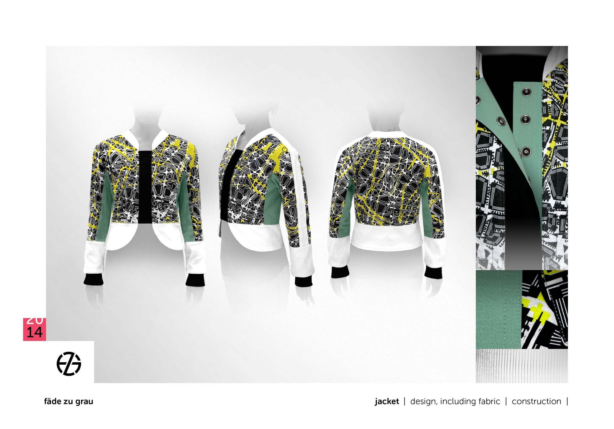 fäde zu grau | jacket