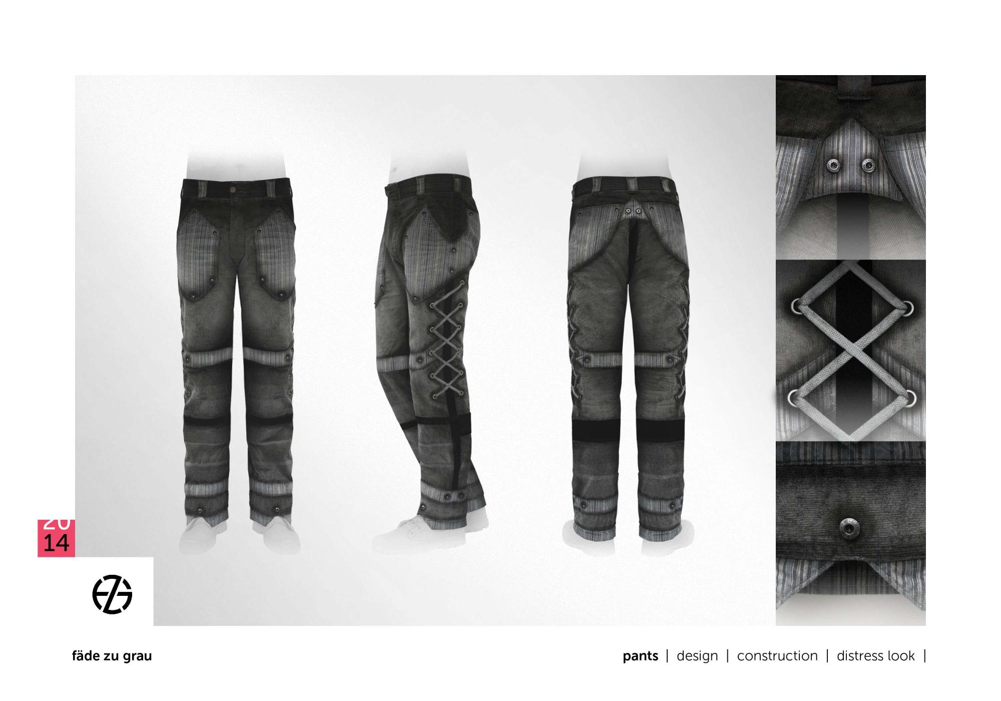 fäde zu grau | pants