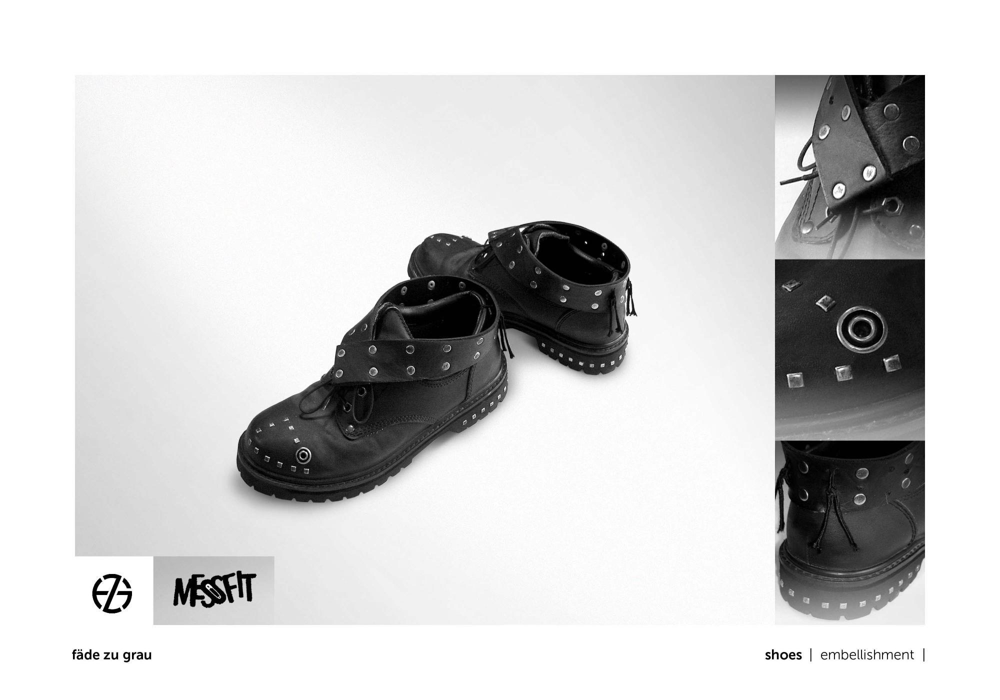 fäde zu grau | shoes
