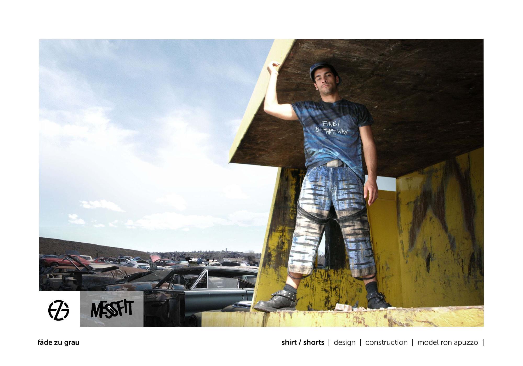 fäde zu grau | photo shoot | shirt, pants