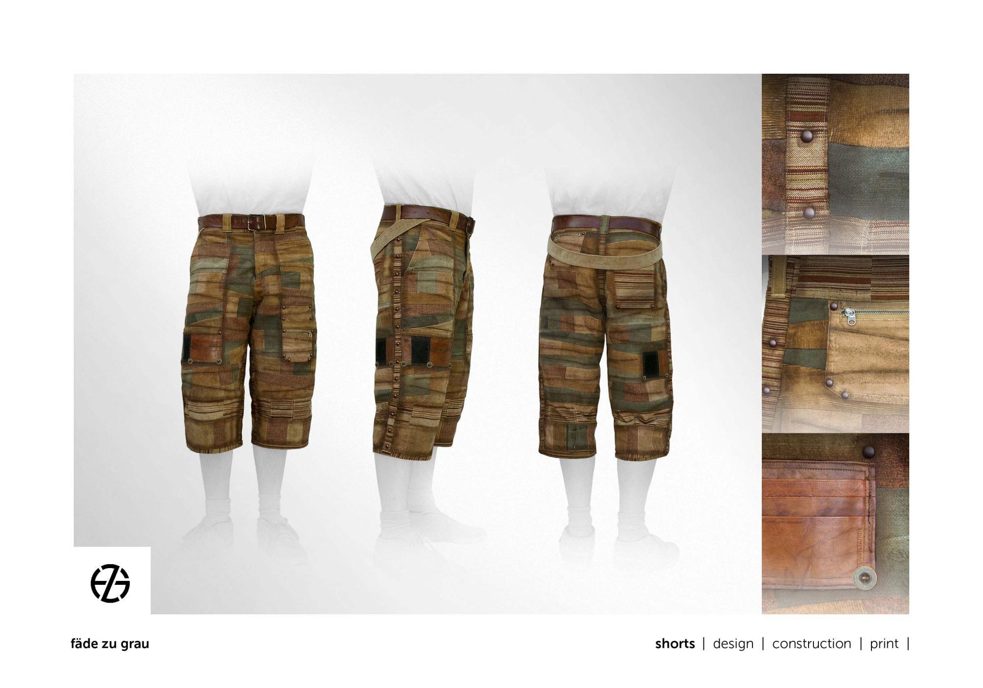 fäde zu grau | shorts