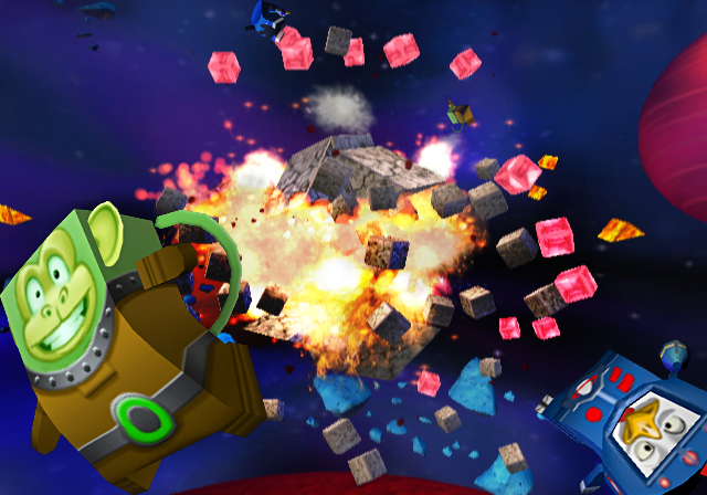 Boom Blox Bash Party - Space