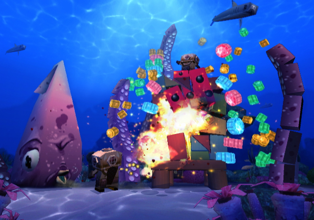 Boom Blox Bash Party - Underwater