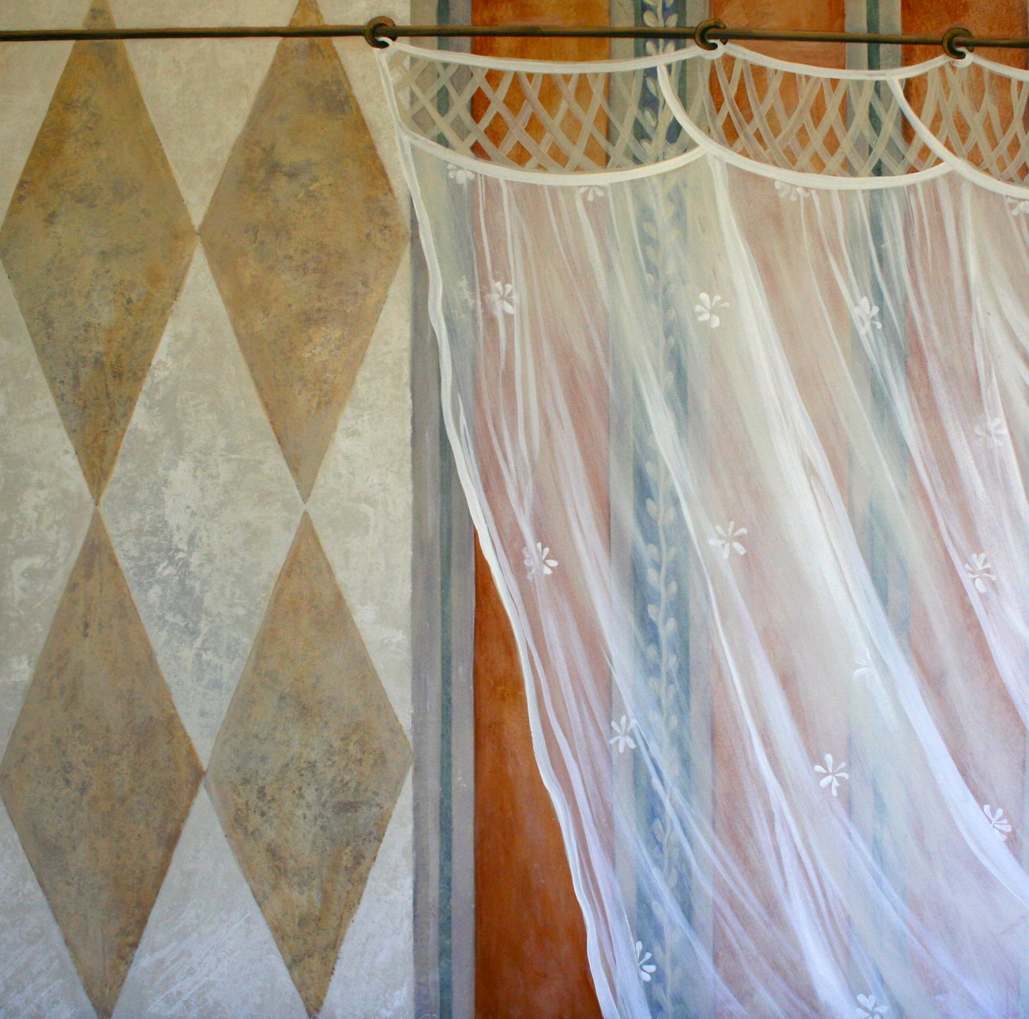 Fantasy curtain, Childs bedroom