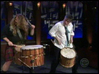 Keith on the Late Late Show with Craig Ferguson 2008