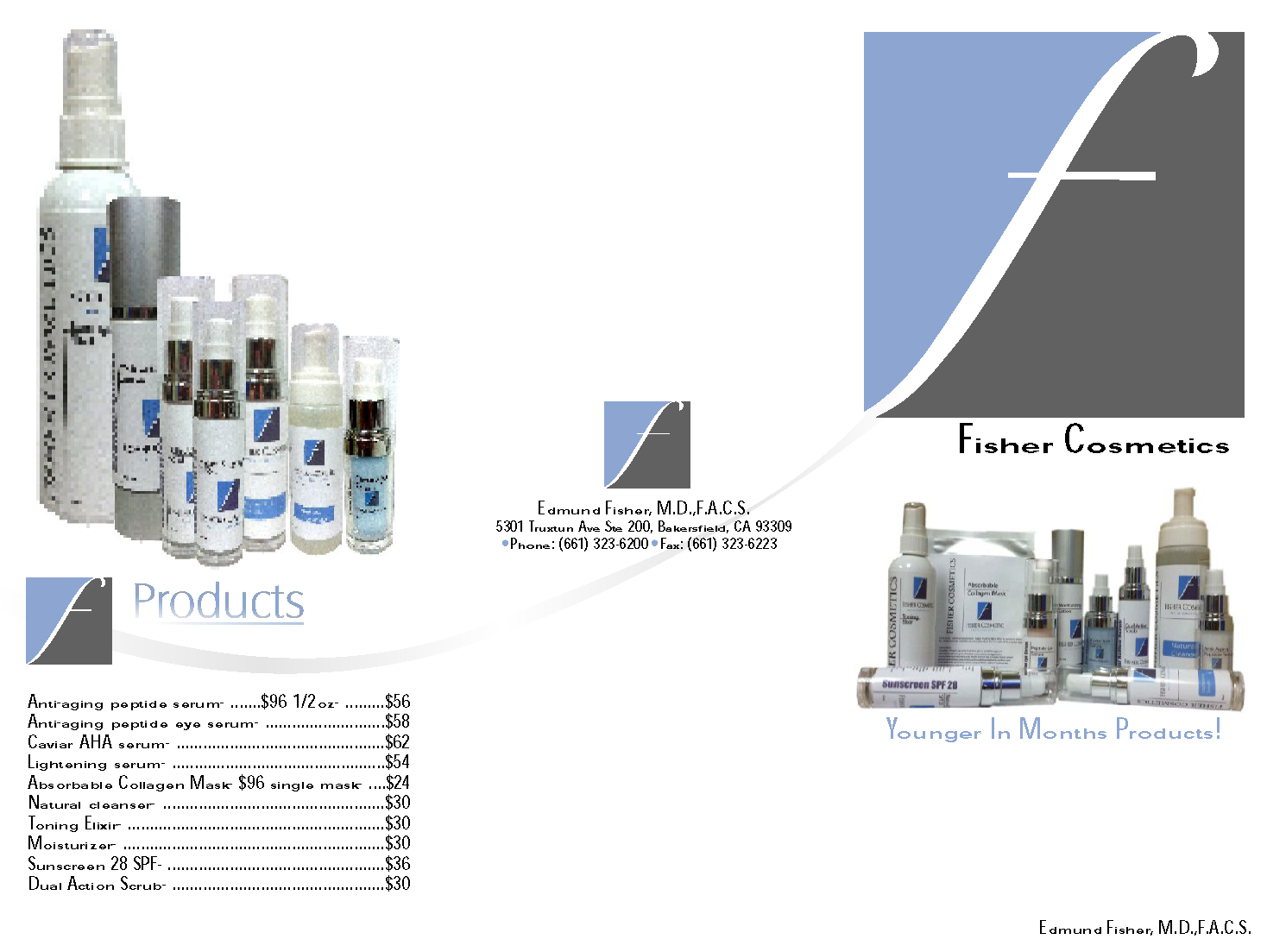 Dr. Fisher Skin Care Products
