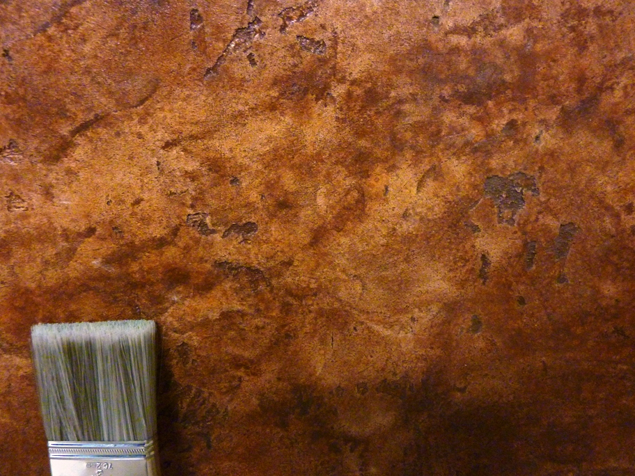 Faux Painted Natural Stone 24