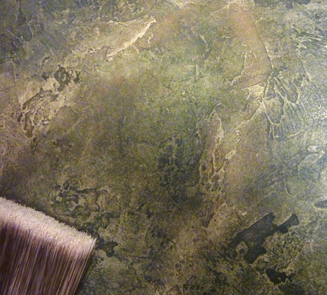 Faux Painted Natural Stone 2